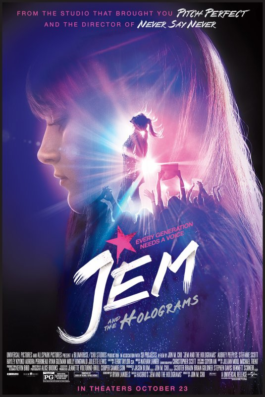 Vidéothèque : Jem & les Hologrammes