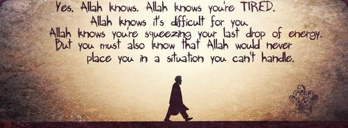 Allah knows everything...