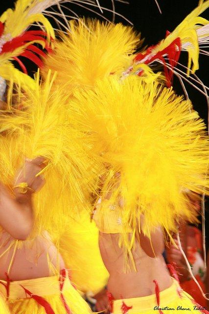 Tahiti par sa danse