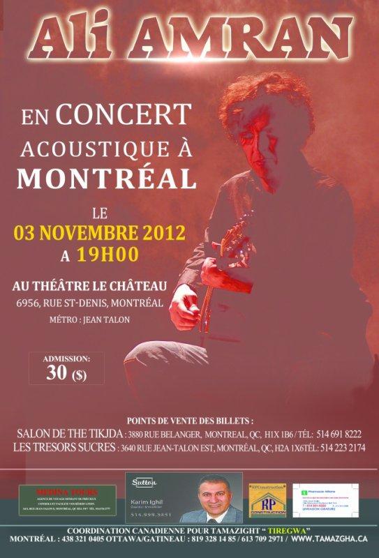 Ali Amran à Montréal