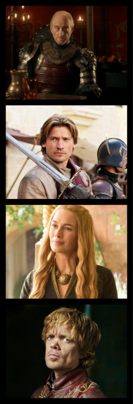 Fiche Personnage : La Famille Lannister