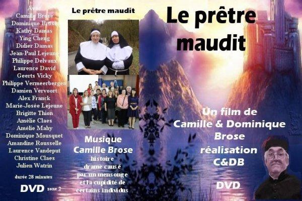 """""""le prêtre maudit"""" court métrage de Camille et Dominique brose"""