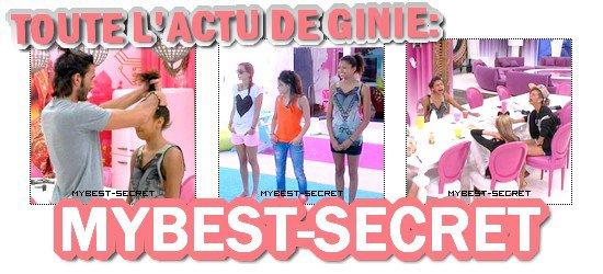 . Le live de Ginie + le prime : Vendredi 22 juin 2012 . ܤ  MYBEST-SECRET .