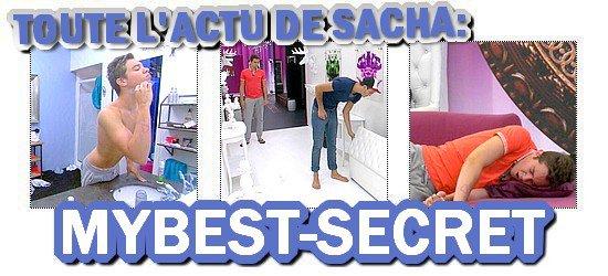 . Le live de Sacha : Dimanche 05 août 2012 . ܤ  MYBEST-SECRET .