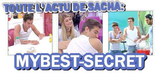 . Le live de Sacha : Lundi 06 août 2012 . ܤ  MYBEST-SECRET .