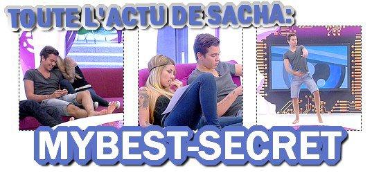. Le live de Sacha : Mardi 07 août 2012 . ܤ  MYBEST-SECRET .