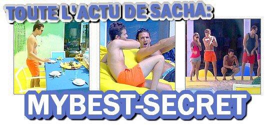 . Le live de Sacha : Mercredi 08 août 2012 . ܤ  MYBEST-SECRET .