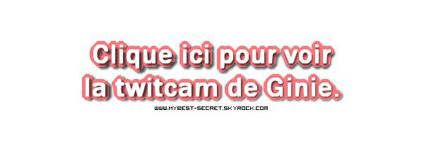 . Le live de Sacha : Lundi 13 août 2012 . ܤ  MYBEST-SECRET .