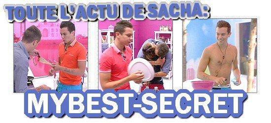 . Le live de Sacha : Jeudi 16 août 2012 . ܤ  MYBEST-SECRET .