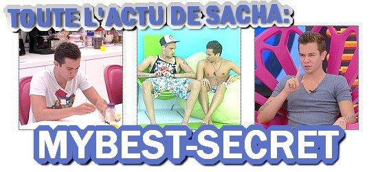 . Le live de Sacha : Lundi 20 août 2012 . ܤ  MYBEST-SECRET .