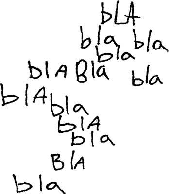 bla bla bla bla bla bla