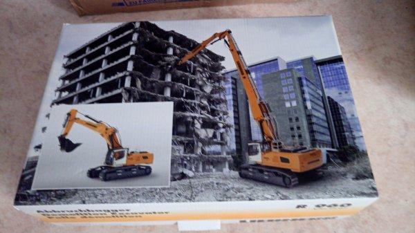 Liebherr R960 démolition