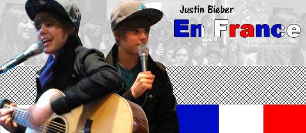 News (France) Justin Bieber.