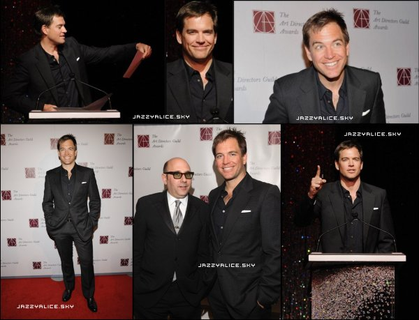 Michael Weatherly au 15th Annual Art Directors Guild Awards le 5 Février 2011