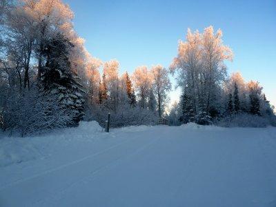 Alaska : Rising sun