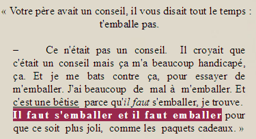 L'ARTICLE DU MOIS DE SEPTEMBRE  ______ « Monsieur Personne qui essaye de devenir Monsieur Quelqu'un. »