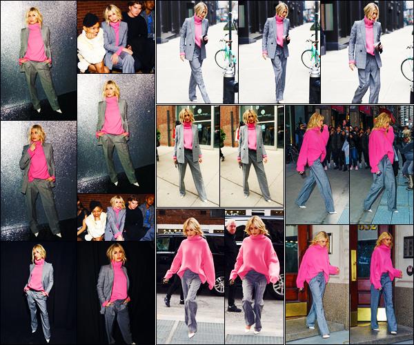 ''•-11/02/19-' : Hailey Baldwin était présente au défilé : « Zadig & Voltaire » pour la Fashion Week à - New-York. La belle mannequin a d'abord été vue quittant son appartement, puis quittant le show, puis arrivant et quittant son appartement. Un top !