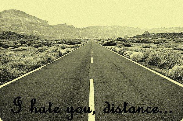 484 km nous séparent...mais c'est énorme!