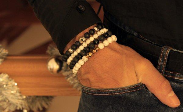 Bracelets Skull Francesco Mariani