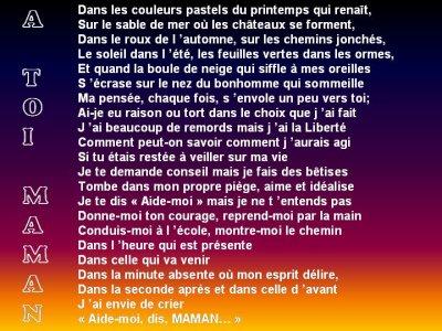 Poeme Pour Ma Mere Blog De Baleine08200