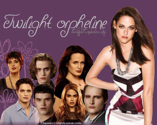 Twilight-Orpheline