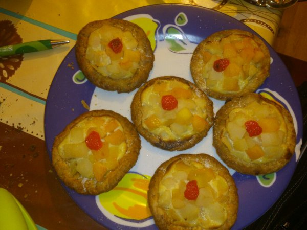 Tartelettes multifruits