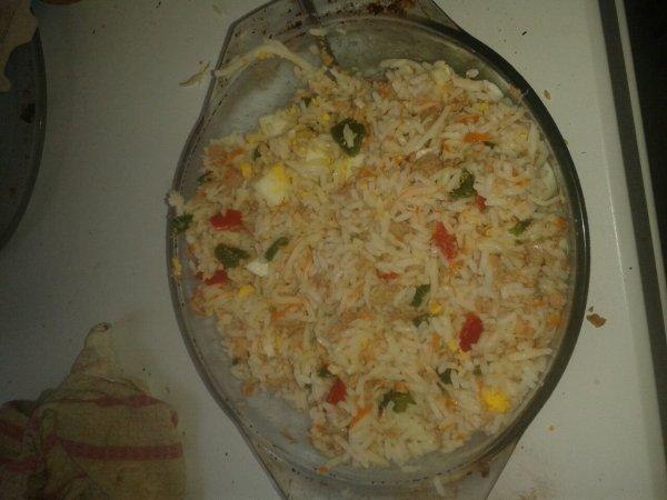 Salade de riz :