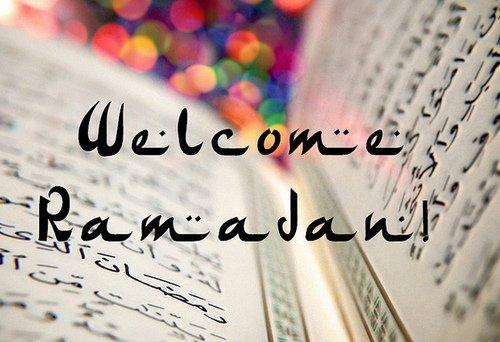 Bon Ramadan mes frères et soeurs