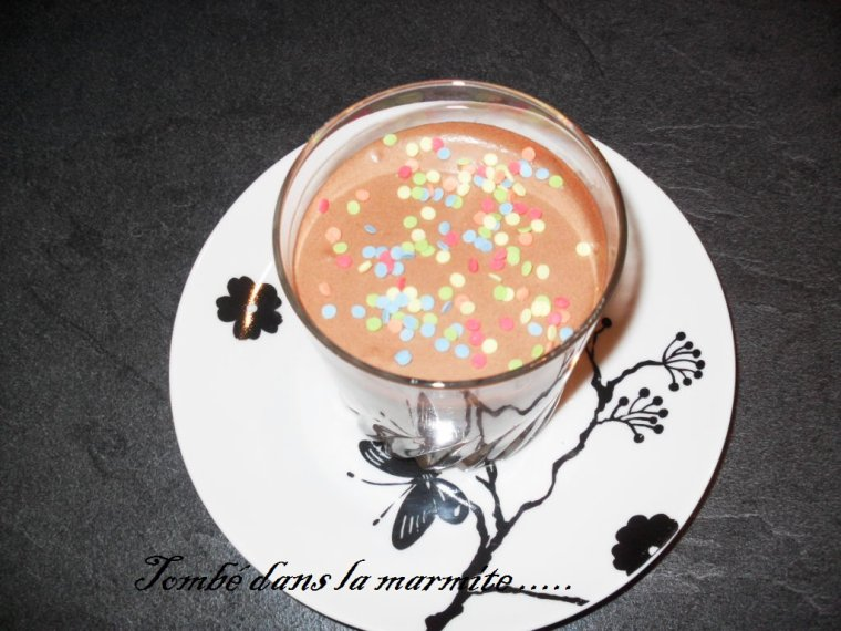 Mousse au chocolat de Vincent ....