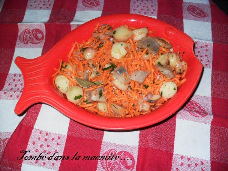 Salade de filets de harengs