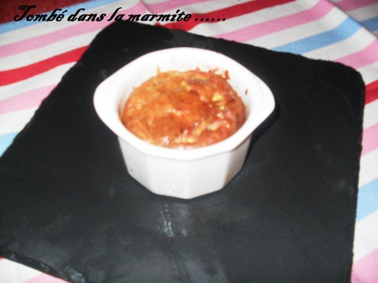 Flans au chorizo et aux lardons