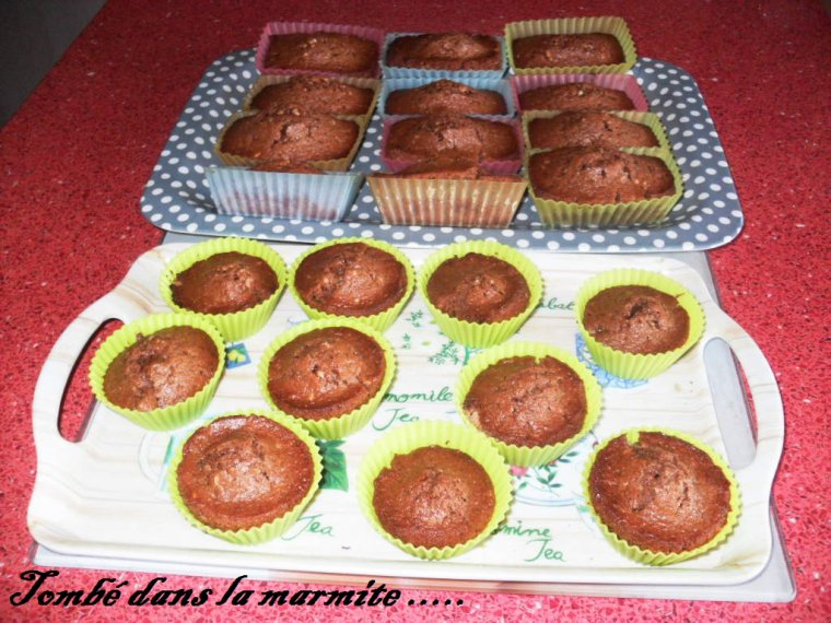 Petits Muffins Pralinoise .....