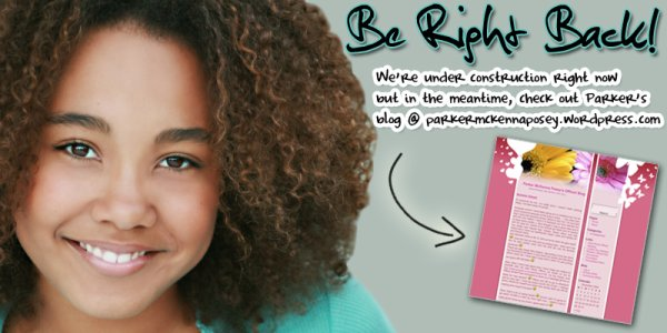 Parker McKenna Posey's official blog