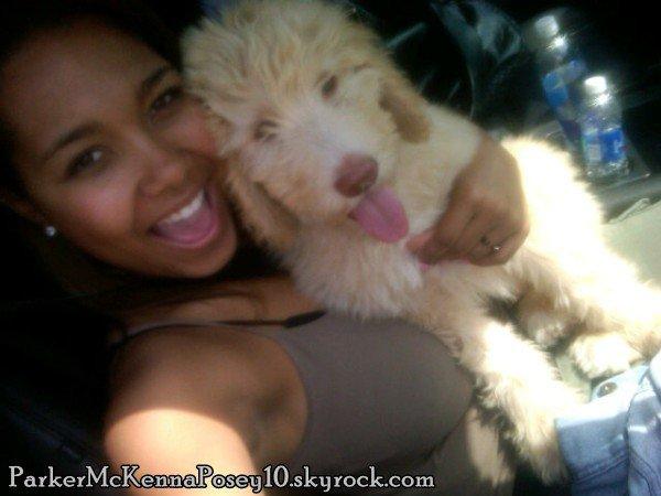 Parker et son chien, une grande histoire d'amour... ;)