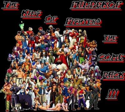 Bienvenu sur mon Blog King of fighters  ザ・キング・オブ・ファイターズ