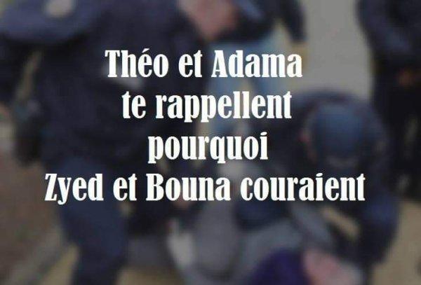 Théo et Adama te rappellent pourquoi Zyed et Bouna couraient