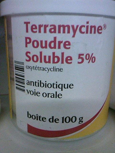 Ou trouver de la Terramycine en poudre ?