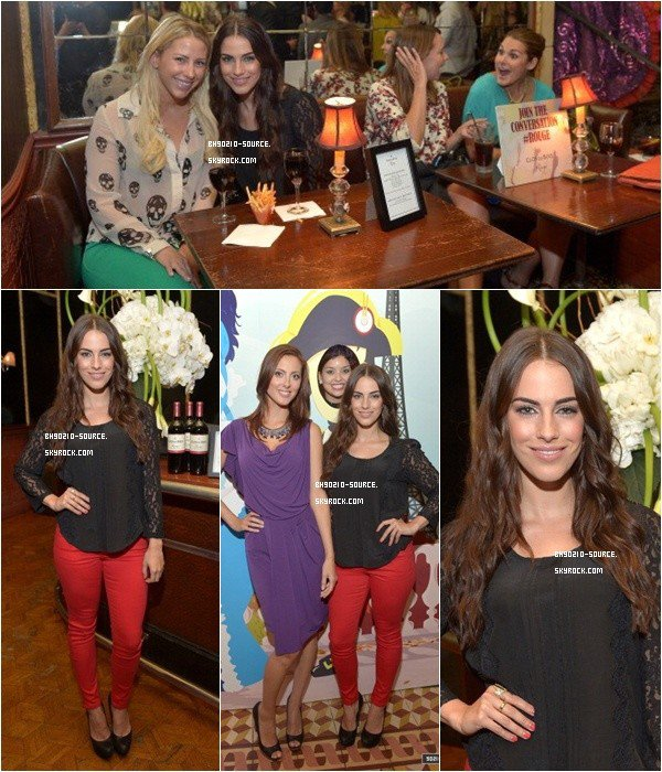 22 août :  Jess at Clos du Bois Rouge Los Angeles LaunchWouhou on sort le red pant!! :)