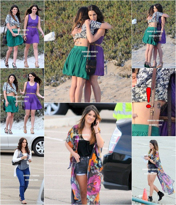 24 août :  On The Set of 90210 Season 5 (Shenae & Jessica)On a eu chaud avec le haut de Shenae :p