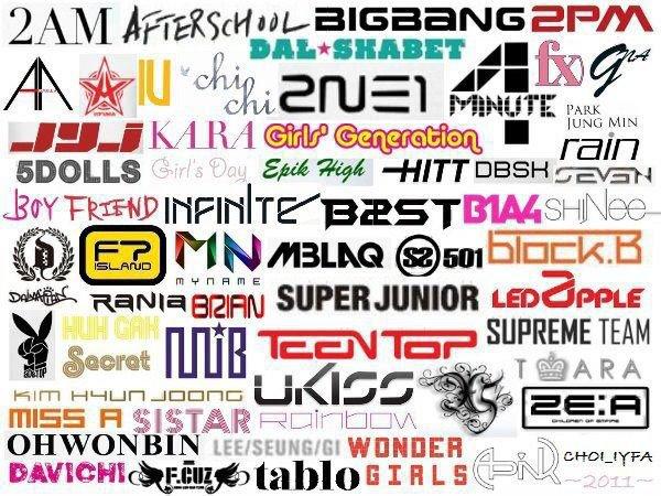 Quel est ton groupe de K-Pop préféré ? ★