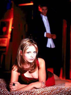 Buffy et son compagnon Angel. :p
