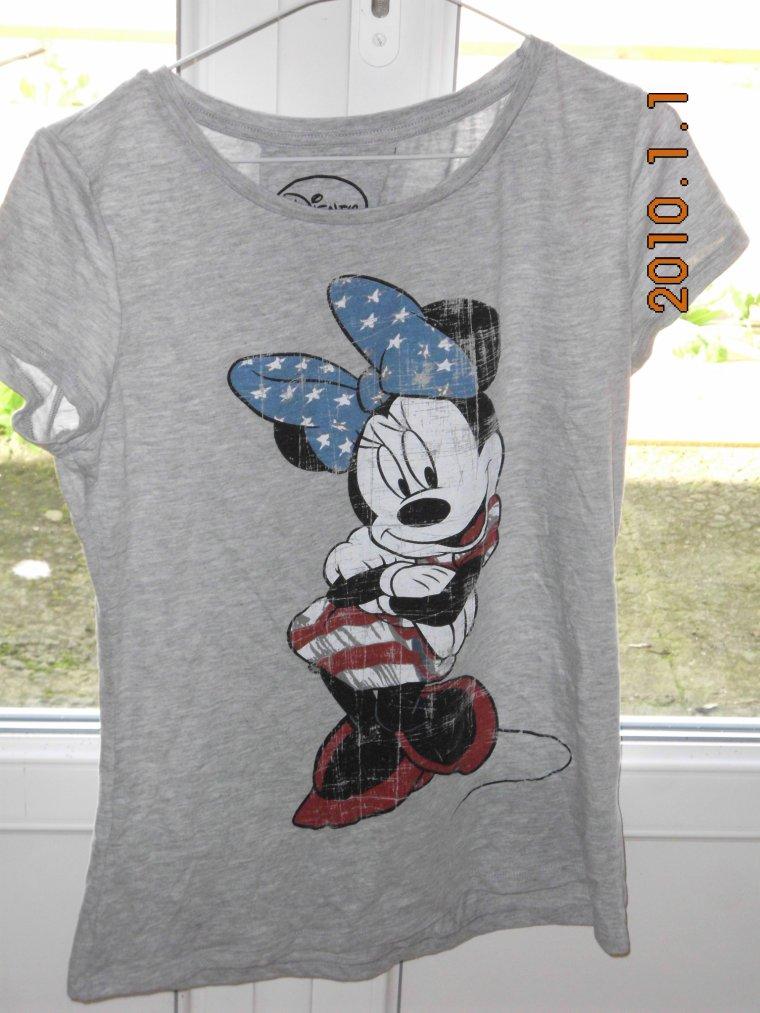 Tee-shirt Jennyfer Mickey