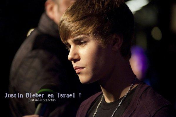 """.  Résumé de l'aventure Justin Bieber israélienne. . SiJustin Biebercrée l'événement dans chaque pays qu'il visite dans le cadre de sa tournée mondiale, le jeune Canadien se serait sans doute passé de la mauvaise pub que lui a valu son récent séjour en Israël... .  Justin Bieber est arrivé en Israëllundi dernier (11 avril). Il prévoyait de passer la semaine à visiter le pays avant de donner unconcertà Tel-Aviv, le jeudi 14 avril. .  Mais le séjour du chanteur de 17 ans a été gâché parle harcèlement des paparazzis, qui l'ont suivi de manière agressive partout où il allait. Il semble qu'ils aient eu le dessus sur Bieber, qui a fait savoir sur sa page Twitter qu'il ne quitterait plus son hôtel de la semaine. .  Par ailleurs, le Premier ministre israélien Benjamin Netanyahu souhaitait avoir la chance de rencontrer le jeune chanteur, mais ce rendez-vous n'a finalement pu avoir lieu. Selon une source, Justin aurait confié aux gens du bureau du premier ministre qu'il ne souhaitait pas que sa visite devienne politique. Une porte-parole de lastara nié cette histoire, affirmant qu'il n'y a jamais eu de plans ou même de discussions à propos d'une rencontre avec le premier ministre. .  Heureusement, le concert de Tel-Aviv s'est visiblement bien passé comme en témoigne le message que Justin a laissé sur son Twitter jeudi soir : """"Soirée incroyable, lieu incroyable, concert incroyable"""". Ouf ! .  Article rédigé par Teemix.aufeminin.com et posté par Manon."""