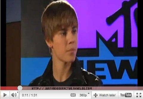 Lors de son passage pourMTV News, Justin a parlé desa mixtape avec Sean Kingstonet profite même de rapper un extrait deWont Stop.      Article rédigé par JustinWorld.net et posté par Kenza.