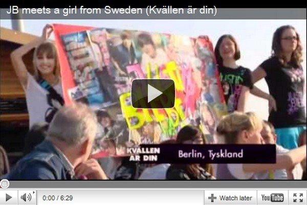 .  9 Mai. Nouveau photoshoot inconnu + Justin rencontre une fan le 2 Avril ( Vidéo) .  Posté par Manon.