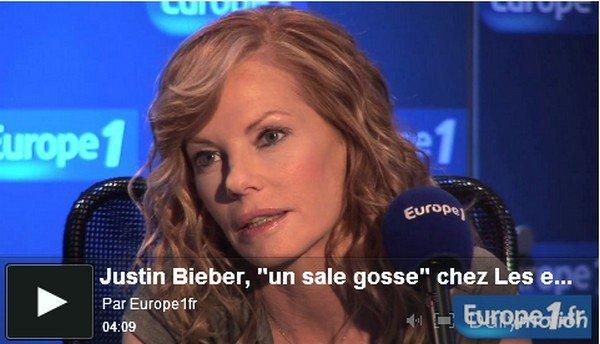 . 9 Mai. « Justin Bieber est un sale gosse ! » . Posté par Manon.