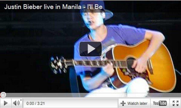 .  Divers. Justin Bieber et les tickets violets !  .  Posté par Manon.