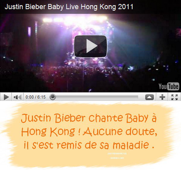 .  My World Tour. Hong Kong. .