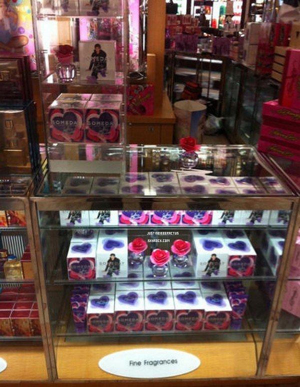 . Shopping - Someday, le parfum de Justin est en rayons aux Etats-Unis et Canada. .