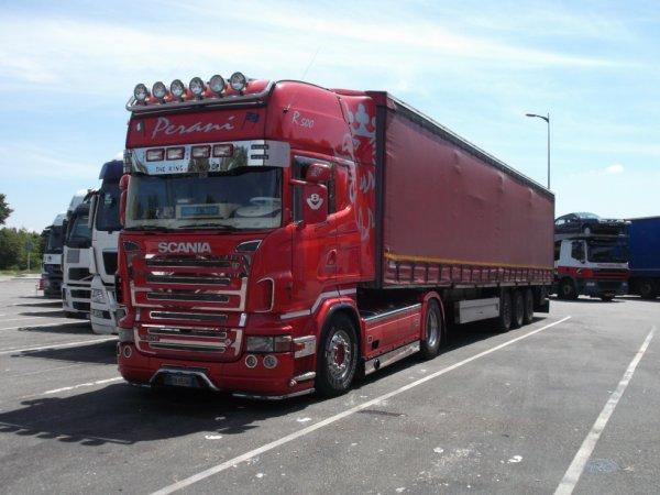 Scania R500 V8 pesani